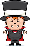 Angry Child Magician Stock Image