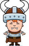 Angry Child Viking Royalty Free Stock Photography