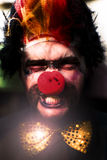 Angry The Clown Stock Image