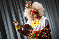 Angry clown Stock Photography