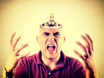 Angry concept Royalty Free Stock Photography