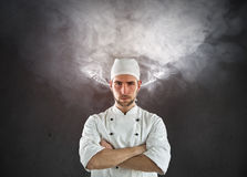 Angry Cook Royalty Free Stock Images