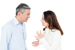 Angry couple arguing Stock Photography