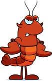 Angry Crawfish Stock Photo