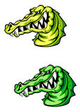 Angry crocodile Royalty Free Stock Images
