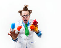Angry doctor Royalty Free Stock Images