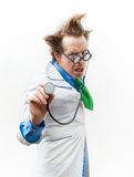 Angry doctor Stock Photos