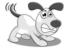 Angry dog Royalty Free Stock Image