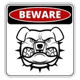 Angry dog Stock Image
