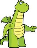 Angry Dragon Royalty Free Stock Photography