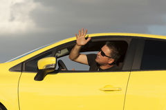 Angry Driver Royalty Free Stock Images