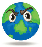 Angry Earth Stock Image