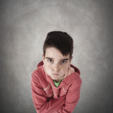 Angry expression Stock Photography