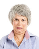Angry expression Stock Photos