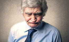 Angry face Stock Photography