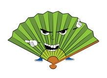 Angry fan cartoon Stock Image