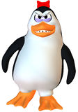 Angry female penguin Royalty Free Stock Photo
