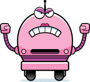 Angry Female Robot Royalty Free Stock Photos