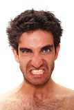 Angry furious man Royalty Free Stock Photography