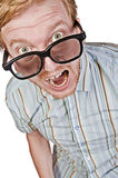 The Angry Geek Stock Photo