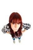Angry girl Stock Photography