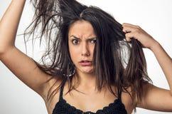 angry girl Στοκ φωτογραφίες με δικαίωμα ελεύθερης χρήσης