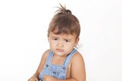 angry girl Στοκ Εικόνες