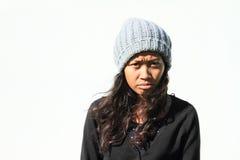 angry girl Στοκ Εικόνα