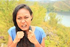 angry girl Στοκ φωτογραφία με δικαίωμα ελεύθερης χρήσης