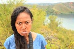 angry girl Στοκ εικόνα με δικαίωμα ελεύθερης χρήσης