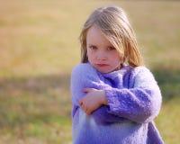 Angry girl Royalty Free Stock Photo