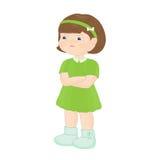 Angry girl Stock Photos