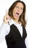 angry girl very Στοκ Εικόνα