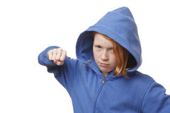 Angry girl Stock Photos