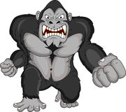 Angry Gorilla cartoon Stock Photo