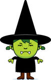 Angry Green Witch Stock Photos