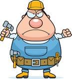 Angry Handyman Stock Image