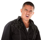 Angry Hispanic Man Stock Photos