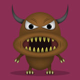 Angry horror monster Royalty Free Stock Photos