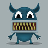 Angry horror monster Royalty Free Stock Photography