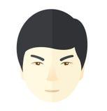 Angry japanese guy Stock Photo