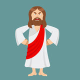 Angry Jesus. Jesus is not satisfied. Angered by Jesus Christ. Go Stock Images