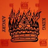 Angry King Stock Photos