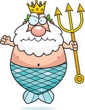 Angry King Neptune Royalty Free Stock Photos