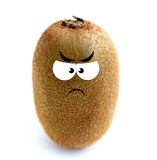 Angry kiwi Royalty Free Stock Image