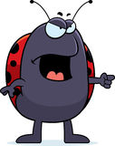 Angry Ladybug Stock Photo