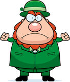 Angry Leprechaun Stock Images