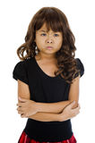 Angry little asian Stock Images