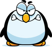 Angry Little Penguin Royalty Free Stock Images