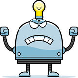 Angry Little Robot Stock Photo